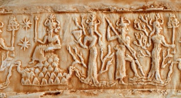 Cylindersegl fra Ebla