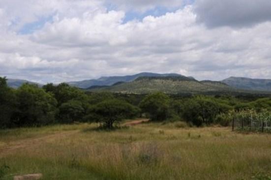 Landskabet ved makapansgat