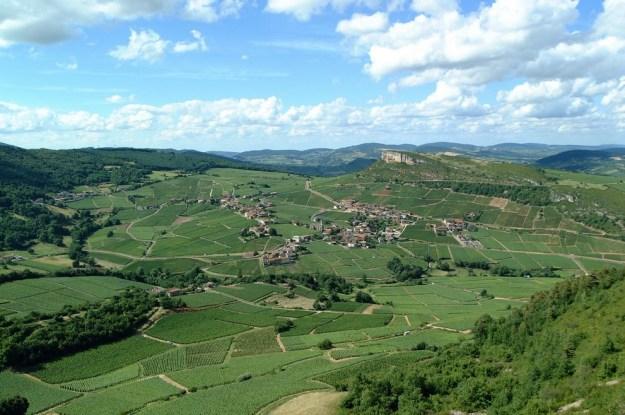 Landskabet ved Solutré