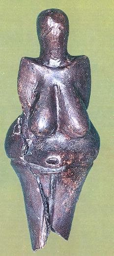 Venus fra Dolni Vestonice. Fremstillet i keramik
