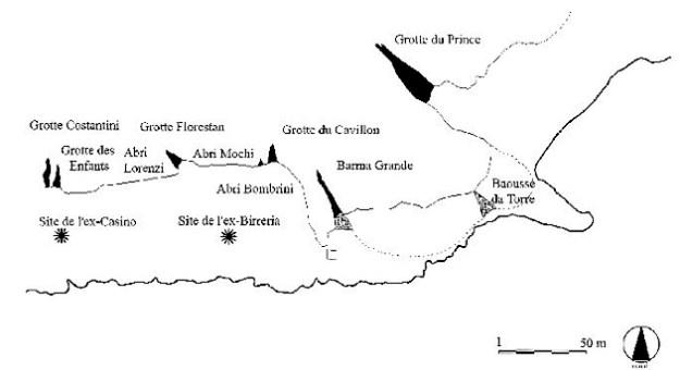 Hulekomplekset ved Grimaldi
