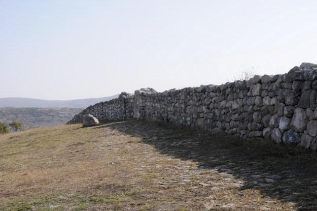 Muren omkring Hatussa