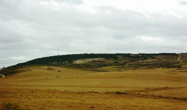 Sierra de Atapuerca, hvor udgravningerne findes