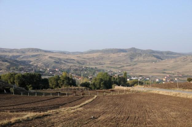 Udsigt fra Hatussa