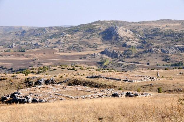 Udsigt over Hatussa