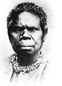 Den sidste overlevende tasmanske kvinde, Truganina