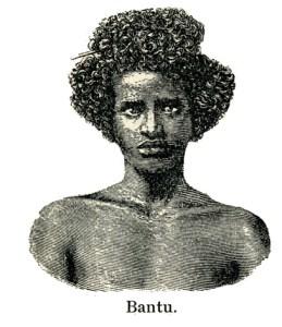 Bantu. Fra Geografi med Billeder