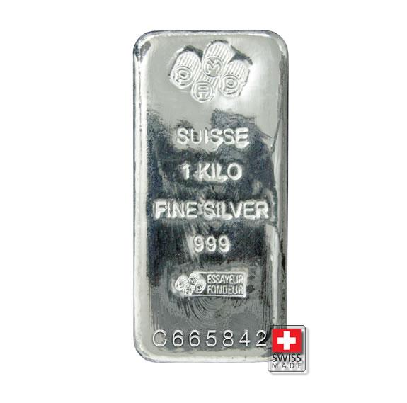 1 kg srebra