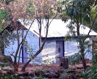 The school building in Porvenir back in use
