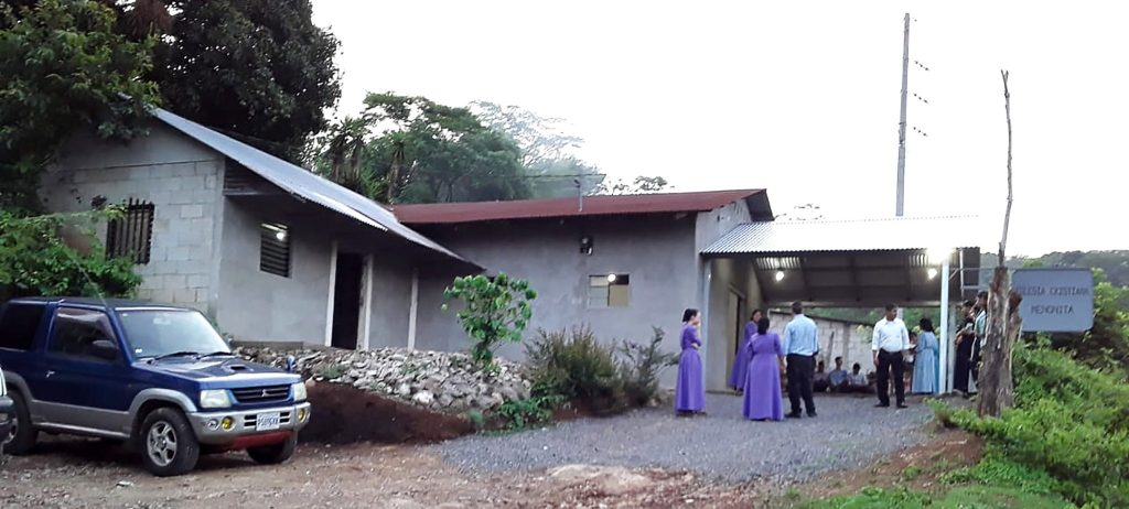 Revival meetings were held at the church in Los Achiotes in May.