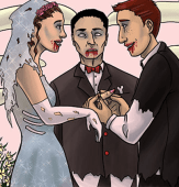 How to Have a Zombie Wedding Ceremony