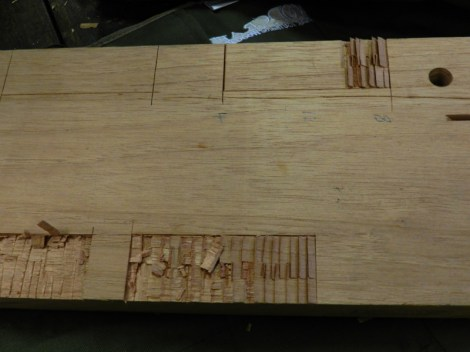 Carving out a space on a board...