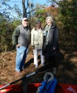 Bill, Alice Wellford and Nancy agree to stay on dry land.