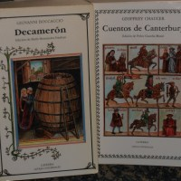 Chaucer y Boccaccio: Los cuentos de Canterbury y el Decameron