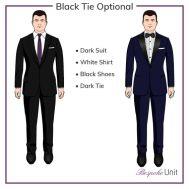 Black tie optional