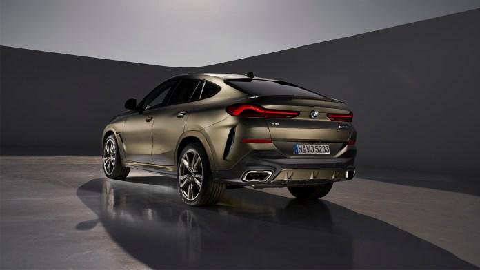 BMW onthult de nieuwe X6