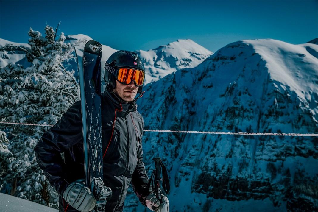 Bomber ski's voor Bentley