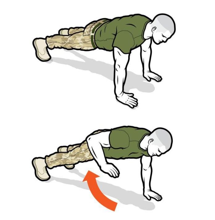 Train als een militair met deze Zero-Gear Military Workout