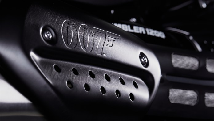 Limited Triumph No Time To Die Scrambler 1200 Bond Edition