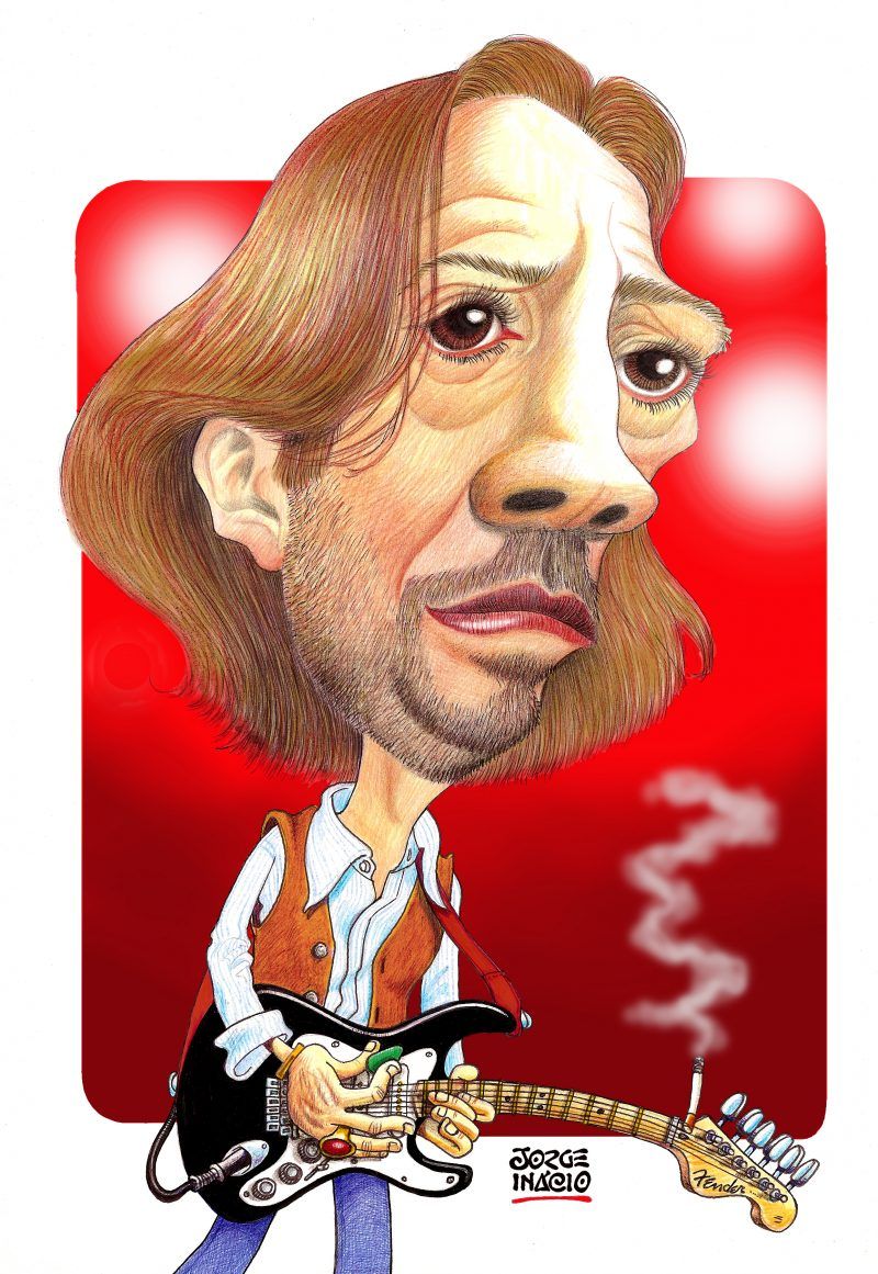 Eric Clapton por Jorge Inácio