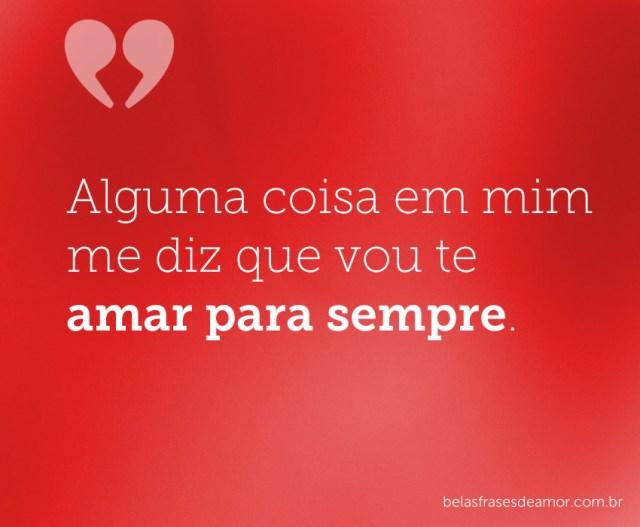 Amar para sempre
