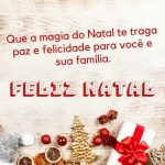 bela mensagem de feliz Natal
