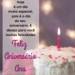 parabens ana - mensagem feliz aniversario Ana