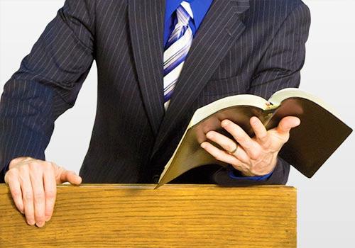 Resultado de imagen para predicando desde el púlpito