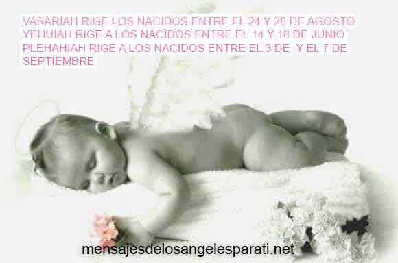 VASARIAH RIGE LOS NACIDOS ENTRE EL 24 Y 28 DE AGOSTO