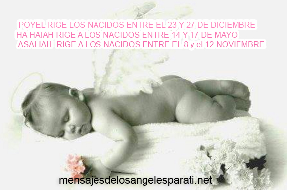 POYEL RIGE LOS NACIDOS ENTRE EL 23 Y 27 DE DICIEMBRE