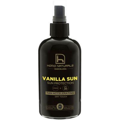 mejores productos belleza hombre homo naturals acelerador protector solar hombre vanilla sun 240 ml