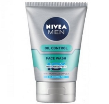 Oil control face wash for men with oily skin nivea 7