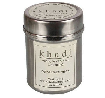 khadi 8 Best Anti Acne Pimple Control Face Packs with Price