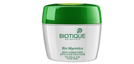 Biotique Bio Myristica Spot Correcting Anti-Acne Face Pack