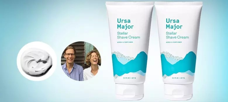 Ursa Major Natural Shave Cream