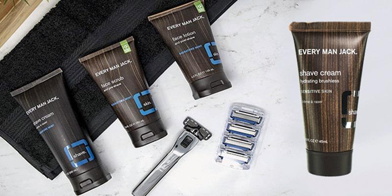Every Man Jack Shave Cream Sensitive Skin Frag-free