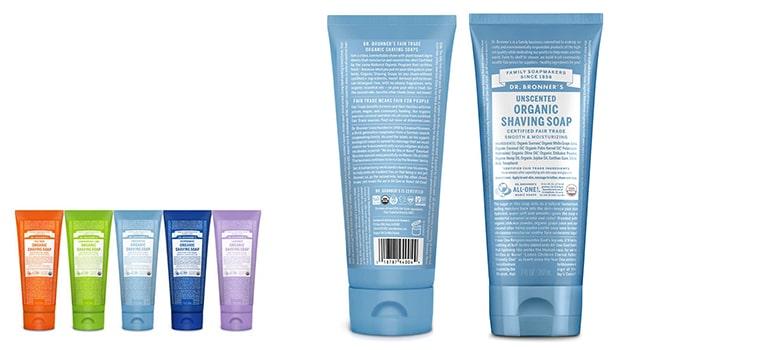 Dr. Bronner's - Best Shaving Soap