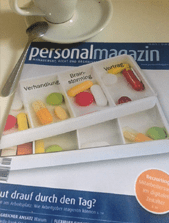 Titelblatt des Personalmagazins, Ausgabe 10/2015