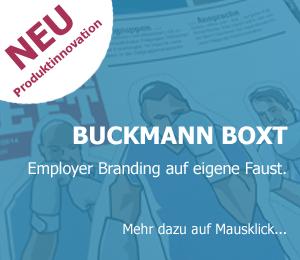 Teaserbild für BUCKMANN BOXT, Employer Branding auf eigene Faust