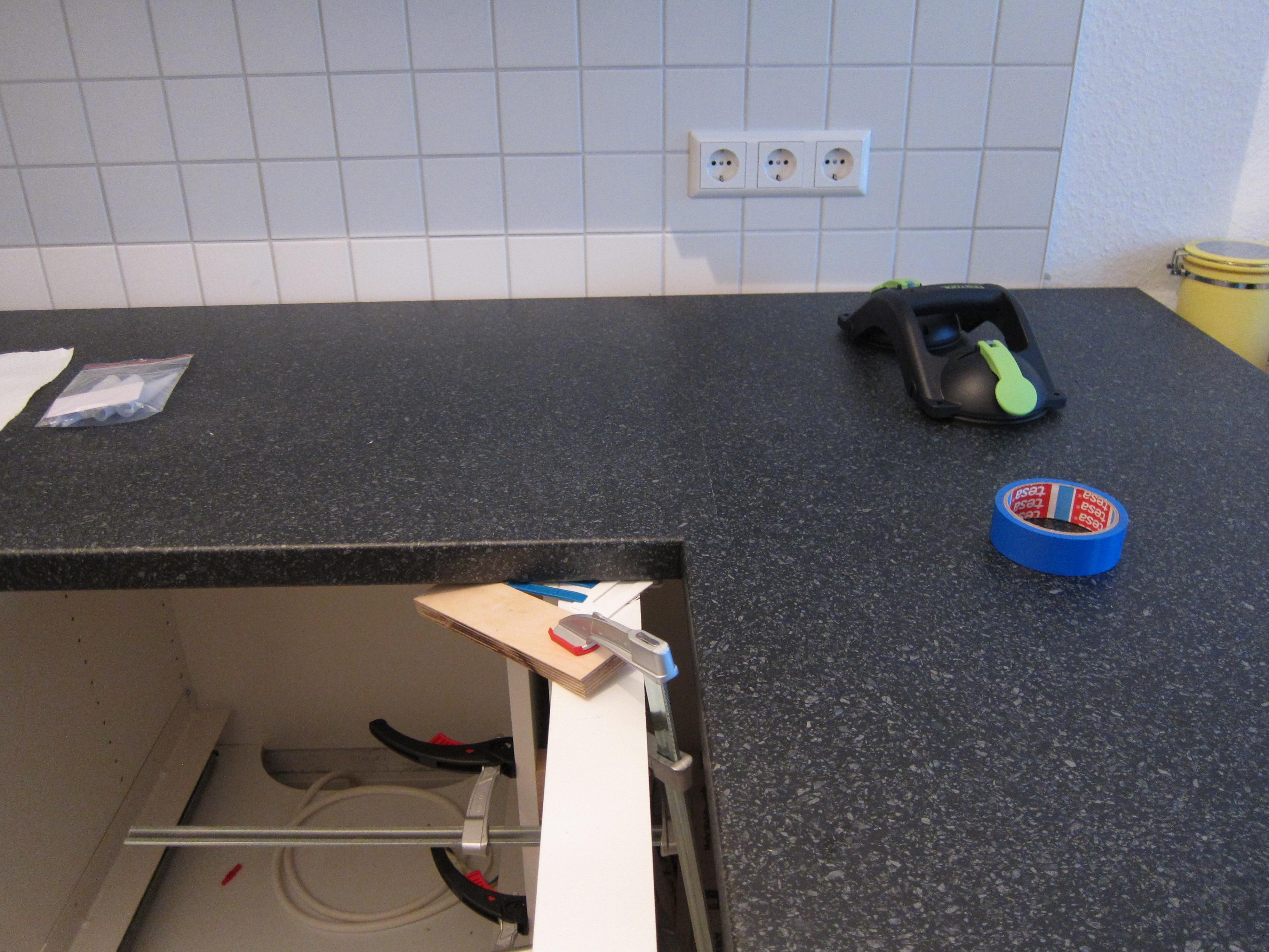 Kuchenarbeitsplatte Zuschneiden Ecke Caseconrad Com