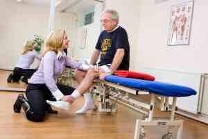 Oefentherapie Mensendieck spieroefeningen om houding of beweging te verbeteren