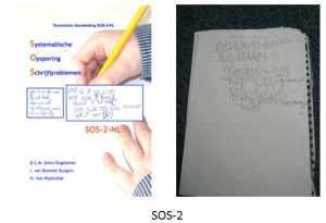SOS-2 schrijftest