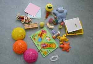 Spelmaterialen kinderoefentherapie