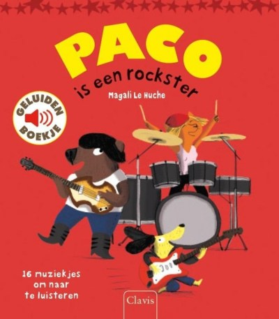 Clavis Paco is een rockster