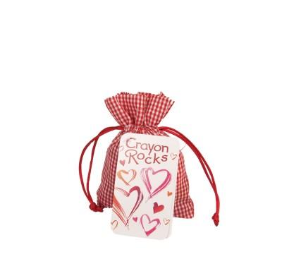 Crayon Rocks (20 st) - Heart Bag