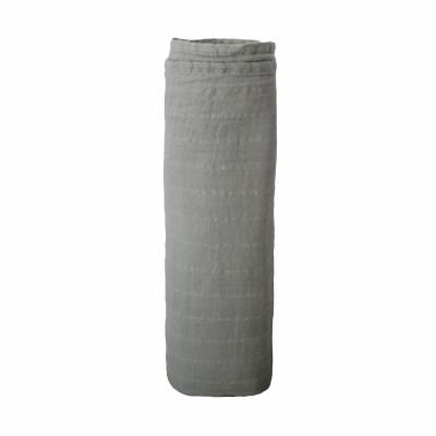 Mushie - Muslin Swaddle - Belgian Grey