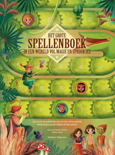 Het grote spelenboek in een wereld vol magie en sprookjes