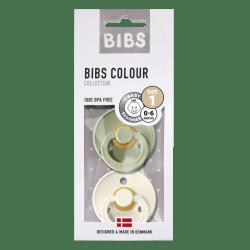 Bibs - Maat 1- Ivory/Sage 2-pack