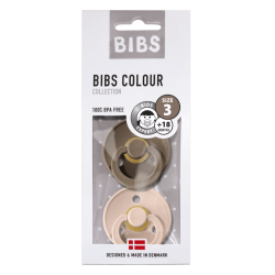 Bibs - Maat 3- Dark Oak/Blush 2-pack