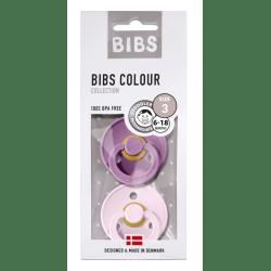 Bibs Maat 3- Lavender/Baby Pink 2-pack